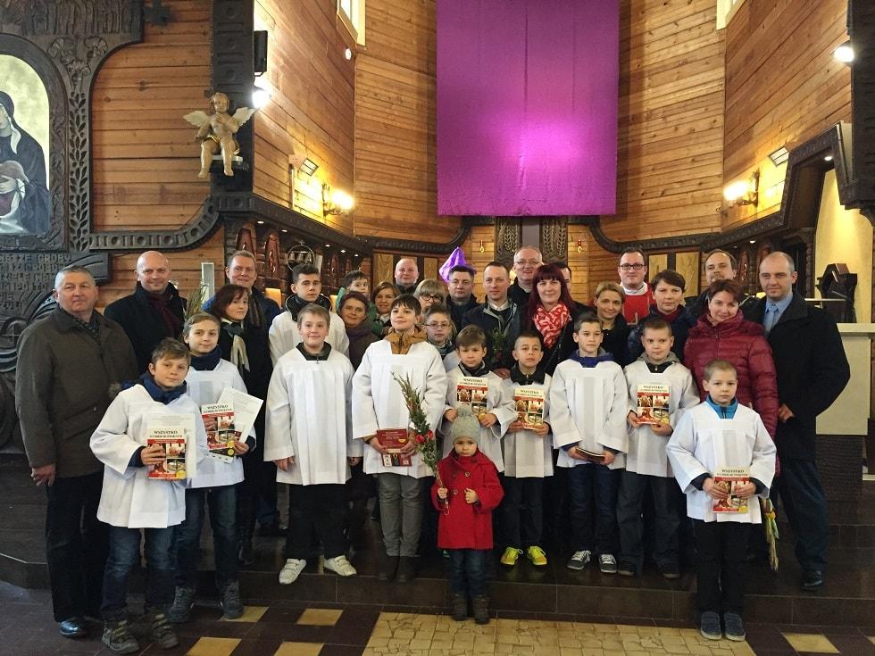 Liturgiczna służba ołtarza – ministranci